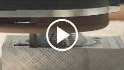 Aluminum dome machining on an AXYZ CNC Router