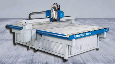Trident Series CNC Router-Knife Hybrid