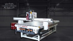 Marshall Custom Cabinetry purchase an AXYZ CNC Router