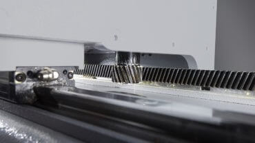 Helical Rack and Pinion for Superior CNC Router Performance