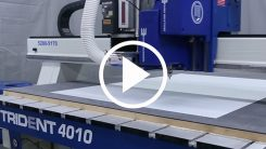 Trident Series CNC Router-Knife Hybrid video