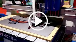 Trident CNC Router-Knife Hybrid with Automatic Tool Change