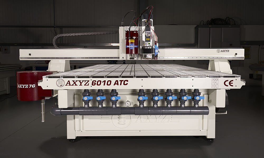 AXYZ 6010 ATC CNC Router Machine