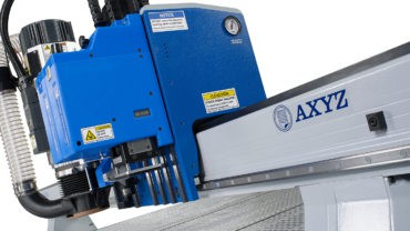 CNC Machine Hybrid: Triple-Head. Twin-Knife. Routing Spindle