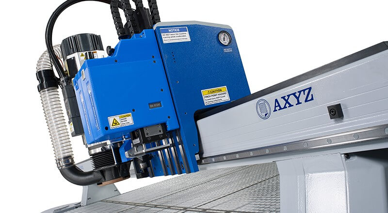 CNC Router for Graphics, Print Finishing, Signmaking | Trident by AXYZ