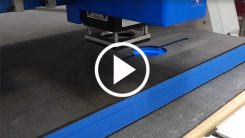 Cutting Foam Packaging on a Trident CNC Router-Knife Hybrid