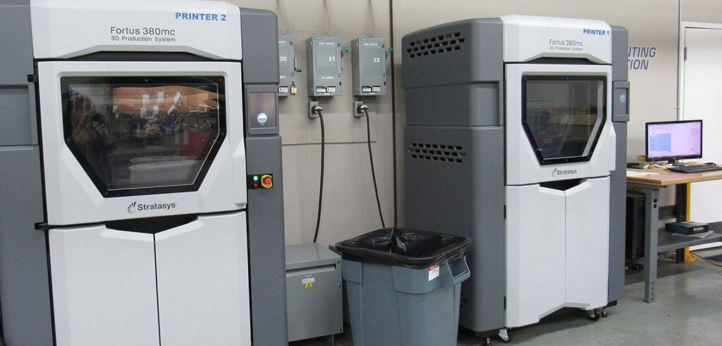 A total of three 3D printers can be found in the facility that are in constant use by engineers and innovation specialists.