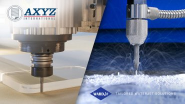 AXYZ enters the waterjet industry by acquiring WARDJet